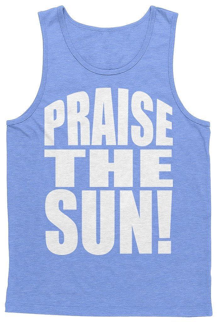 Blittzen Mens Tank Top Praise The Sun LS-00301_M3-$P