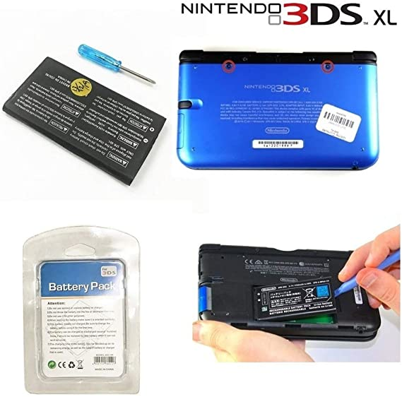 3DS XL Replacement Battery Pack 2500mAh Long Life - Perfect to ...