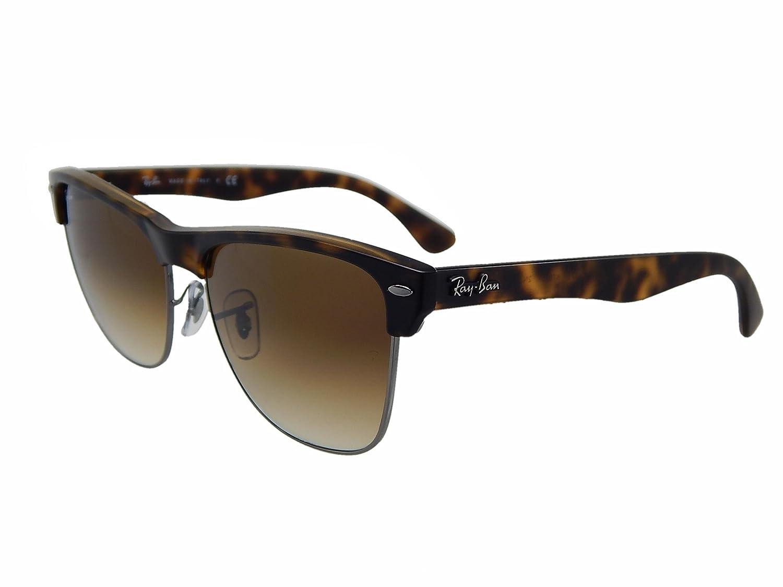 9e7b85d8b3 Amazon.com  Ray Ban Clubmaster RB4175 878 51 Tortoise Light Brown Gradient  57mm Sunglasses  Clothing