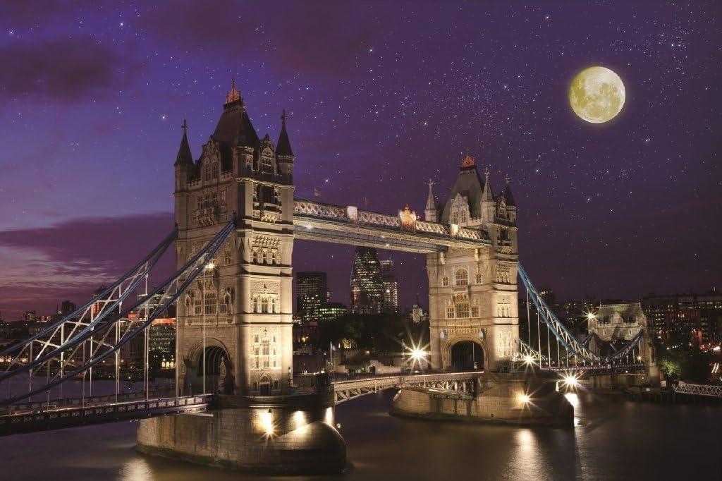 ! 1000 piece Aim puzzle master of Tower Bridge night view - United Kingdom - (50x75cm)