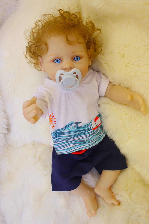 Amazon.es: 18inch 45cm muñeca Reborn bebé Niño Cuerpo Entero ...