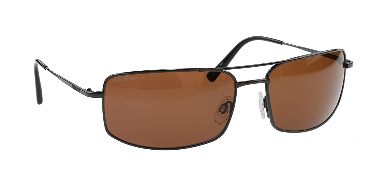 Serengeti Treviso Gafas de Sol Clásicas, Plateado Oscuro ...