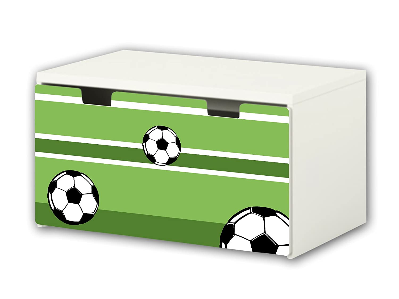 Football Furniture Film | BT04 | Furniture sticker with butterfly Motive | matching to the children's storage bench STUVA of IKEA (90 x 50 cm) STIKKIPIX®