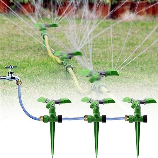 Star Supermarket - Aspersor para jardín, 360 Grados, rociador para césped, pulverizador de Agua para jardín, césped, Sistema de riego para jardín, 1: Amazon.es: Jardín