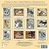 The Proverbial Cat: Feline Inspirations By Sydney Hauser 2018 Wall Calendar (CA0153)