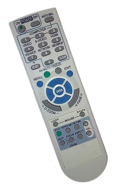Sustituir mando a distancia compatible para NEC M300 X S + ...