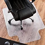 P2U 36'' x 48'' Polyvinyl Chloride(PVC) Lipped Chair Mat for Hard Floors