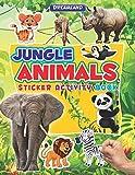 Sticker Activity Book - Jungle Animals