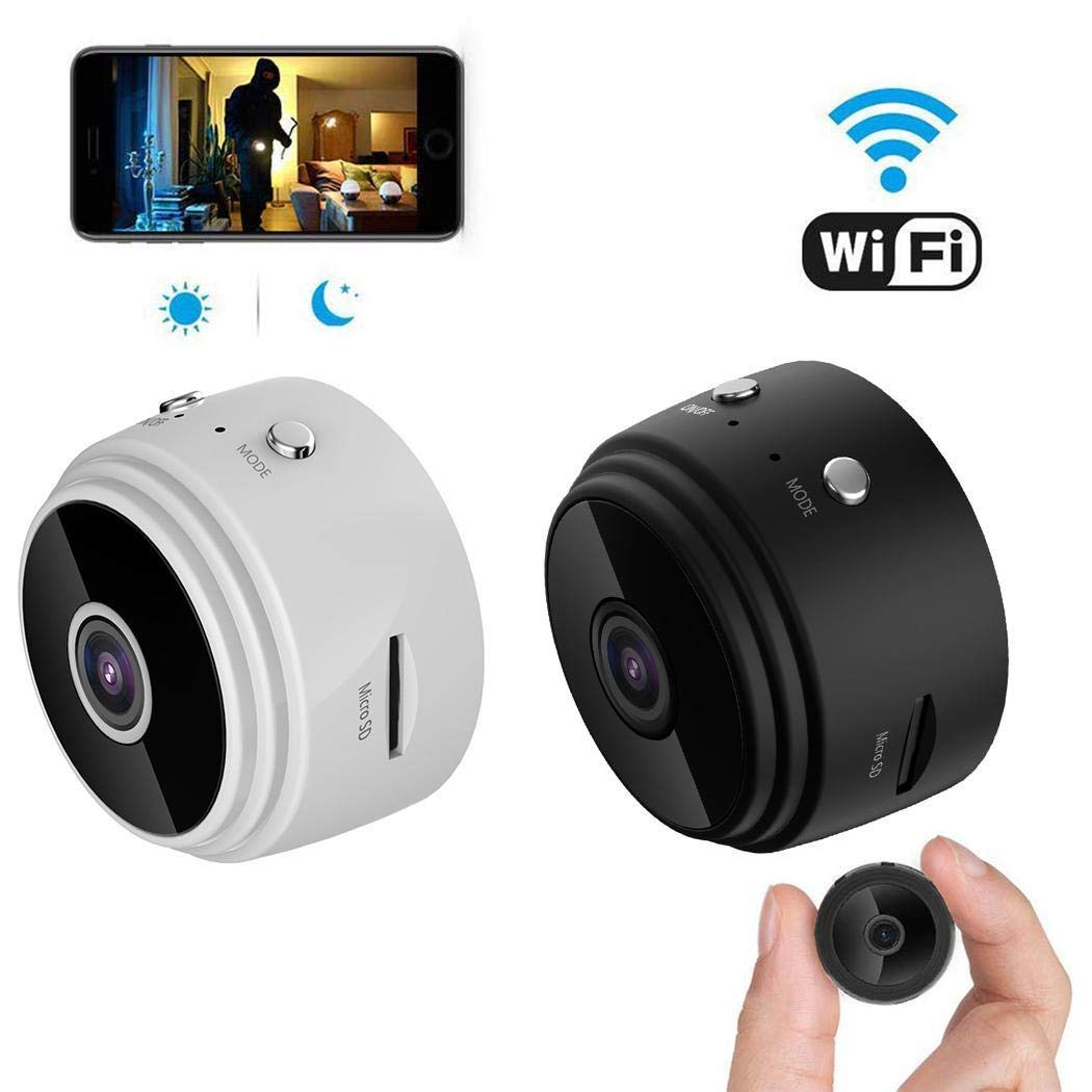 Benlet A9 1080P HD WiFi Wireless Sports DV Surveillance Camera Night Vision 1920 x 1080 Security by Benlet