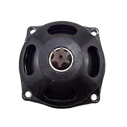 T8F 6Tooth Clutch Drum Gear Box For 47cc 49cc ATV Go Kart Cart Mini Pocket Bike
