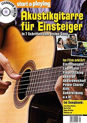 Akustikgitarre für Einsteiger, Heft + DVD