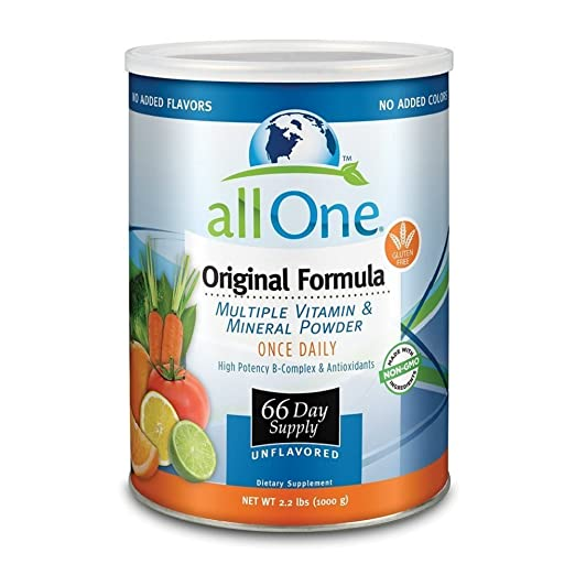 Product thumbnail for AllOne Original Formula Vitamin & Mineral Powder for Seniors