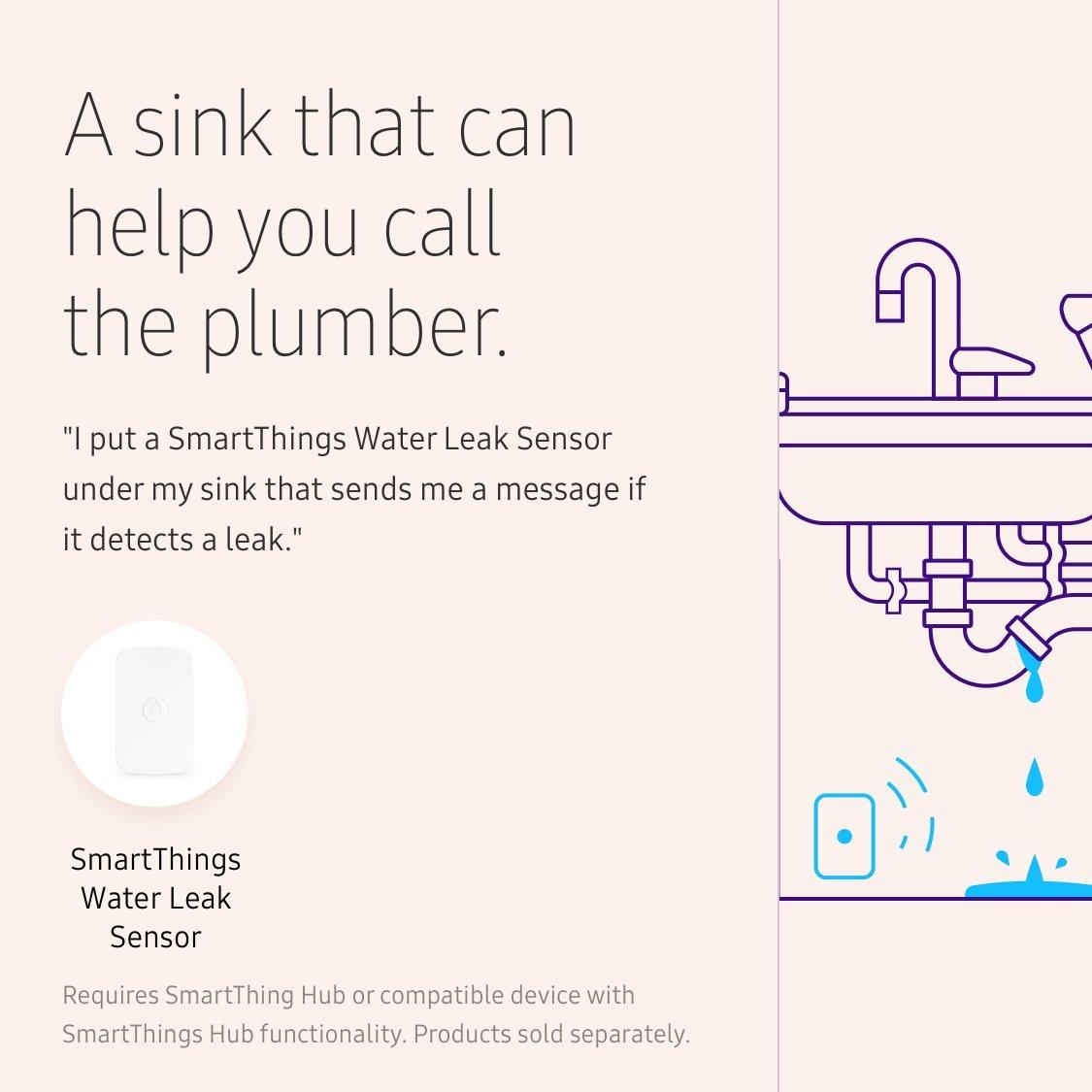 Samsung SmartThings Water Leak Sensor