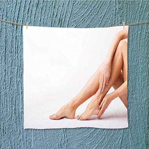 AuraiseHome travel towelfemale tak care of her feet Luxury Hotel & Spa Towel W13.8 x W13.8 -
