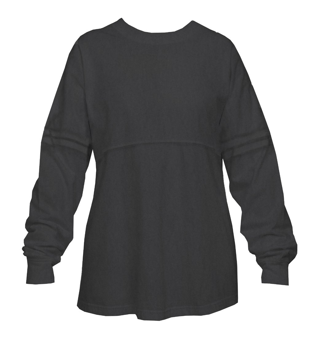 Charcoal Grey Pom Pom Pullover Shirt for Women