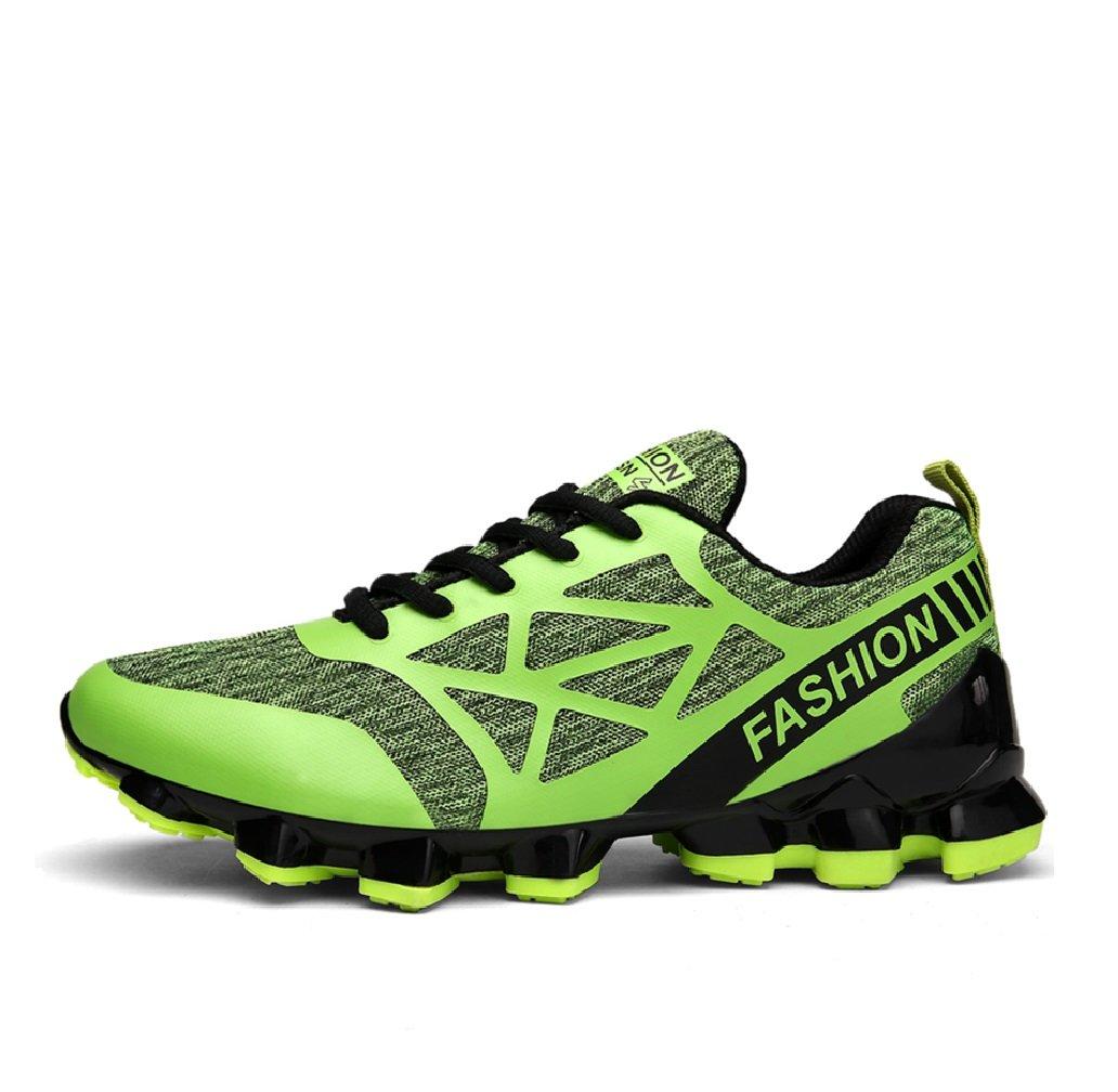 Zapatos Deportivos Ligeros para Hombres Zapatos Deportivos Multifuncionales Zapatos Deportivos para Hombres Nuevos De Malla Respirable De Verano (Color : Verde, tamaño : 46) 46|Verde