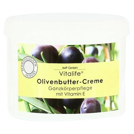 Aceite de Oliva Cuidado de cuerpo entero de mantequilla de olivo de crema 500 ml m