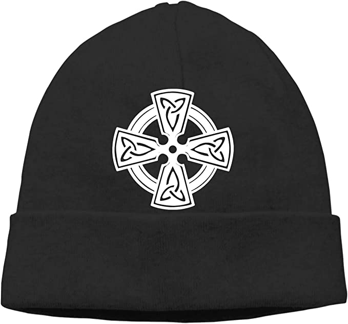 IRELAND Black Ireland Cap with Celtic Design