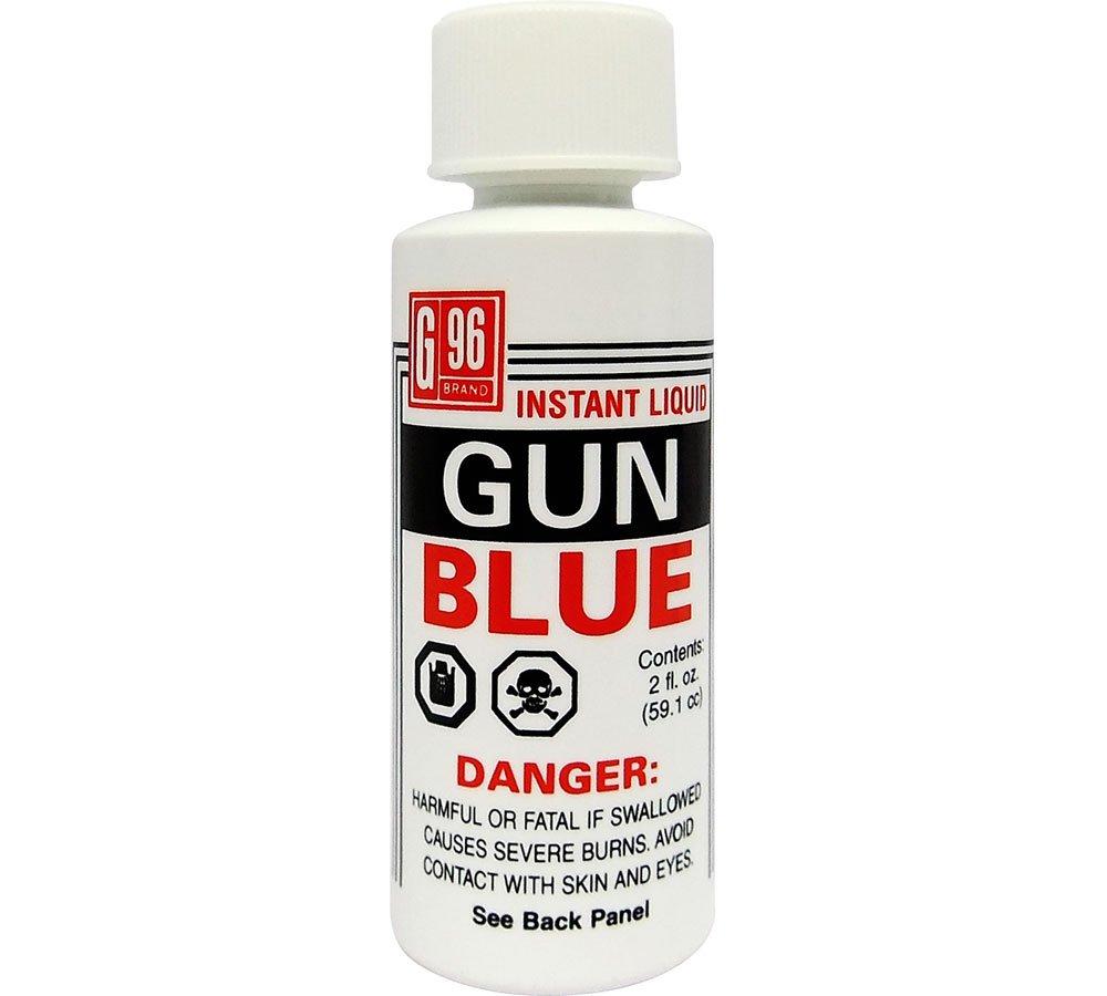 G96 1069 Liquid Gun Bluing, 2-Ounce