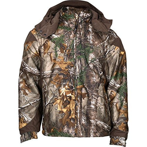 (Rocky Men's Prohunter Insulated Parka Jacket, Realtree Extra Camouflage, Medium)