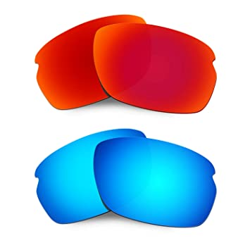 44df978c212 Hkuco Mens Replacement Lenses For Oakley Carbon Shift Sunglasses Red Blue  Polarized