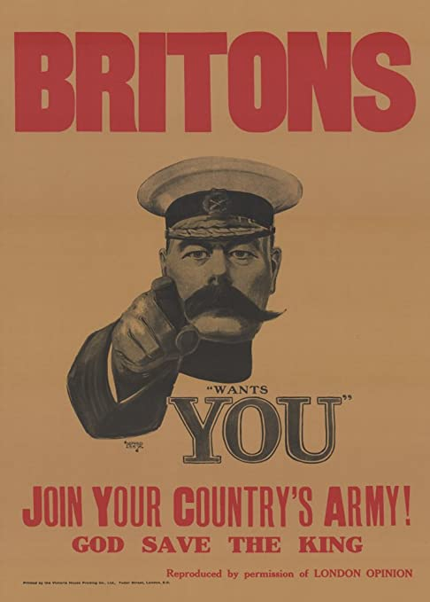World of Art - Lámina de cartel de propaganda británico de ...