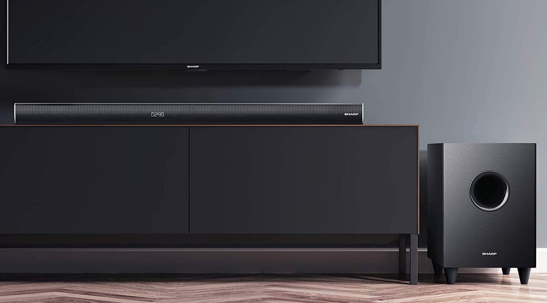 96 cm Wireless Home Theatre Telecomando 3.1 HDMI ARC-CEC Dolby Digital Bluetooth 600 W 4K Pass Through Sharp Soundbar HT-SBW260