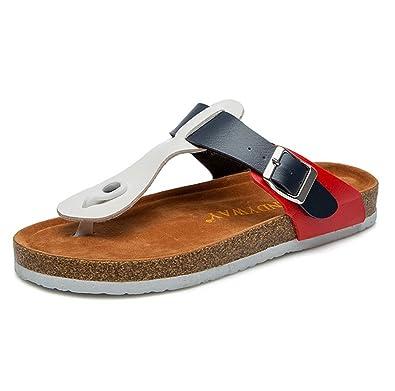 Unisex-Erwachsene Zehentrenner Komfort Sandalen Sandaletten Flip Flops Schwarz EU 36 /Label 36 WalD8IxgPZ
