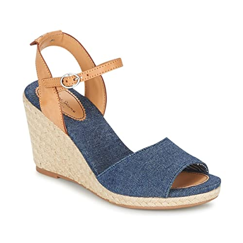 sale retailer 7d2d4 75949 Pepe Jeans London PLS90307 Jeans Sandali con Zeppa Scarpe ...