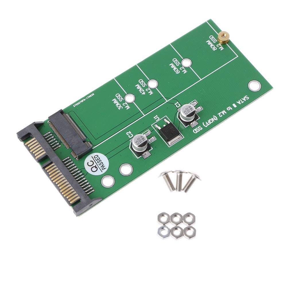 TOOGOO Ngff (M2) Ssd to 2.5 inch Sata Adapter M.2 Ngff Ssd to Sata3 Convert Card for 30/42/60/80Mm M.2 Ssd Hard Drive by TOOGOO (Image #2)