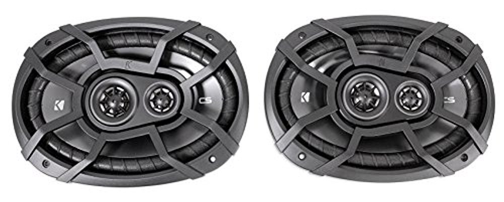 KICKER 43CSC674 6.75 600w Car Audio Speakers+2 2 43CSC6934 6x9 900w Speakers 43CSC674+43CSC6934