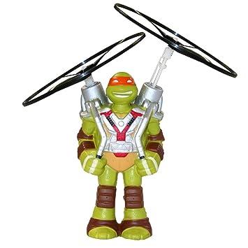 Tortugas Ninja - Figura voladora Mike (Giochi Preziosi 91613 ...