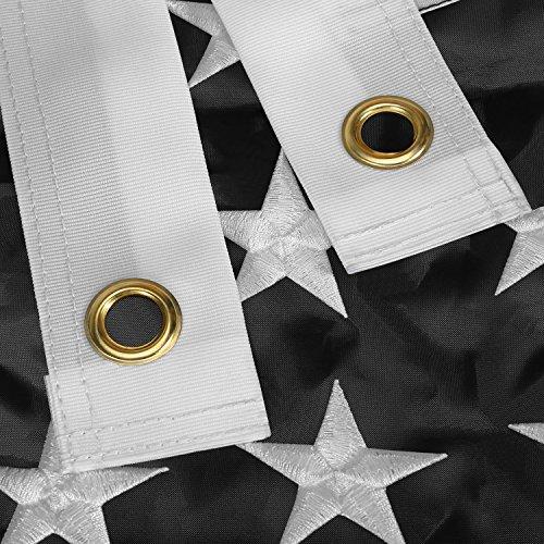 ef40aff71cec Newever Thin Blue Line Flag 3x5 ft - 210D Nylon