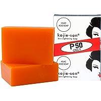 KOJIE SAN Skin Lightening Kojic Acid Soap, 2 Bars, 135 g