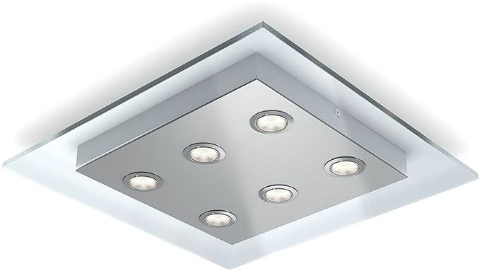 Plafoniera Per Esterno Philips : Philips lighting matrix lampada da soffitto plafoniera nickel
