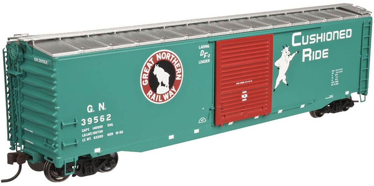 GN 50 ' Boxcar # 39651 B01C36KRPG