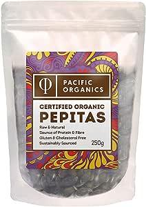 Pacific Organics Organic Pepitas, 250g