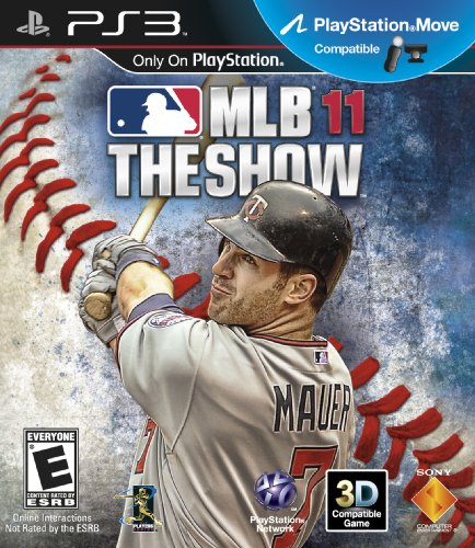 - MLB 11: The Show - Playstation 3