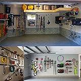 Wall Mount Double Hook,Heavy Duty Steel Garage