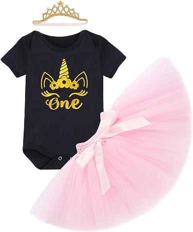 Falda Tutú Niñas primero 1st Cumpleaños Personalizado De Oro Rosa Pastel Smash Conjunto Set