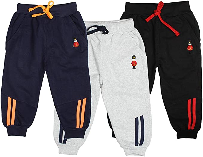 Fleece Active Joggers Elastic Pants Theres No Place Like Home Sweatpants for Boys /& Girls
