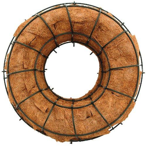 24-Living-Wreath-Wire-Form-with-Coco-Liner-15-Inside-Diameter-Original-Design
