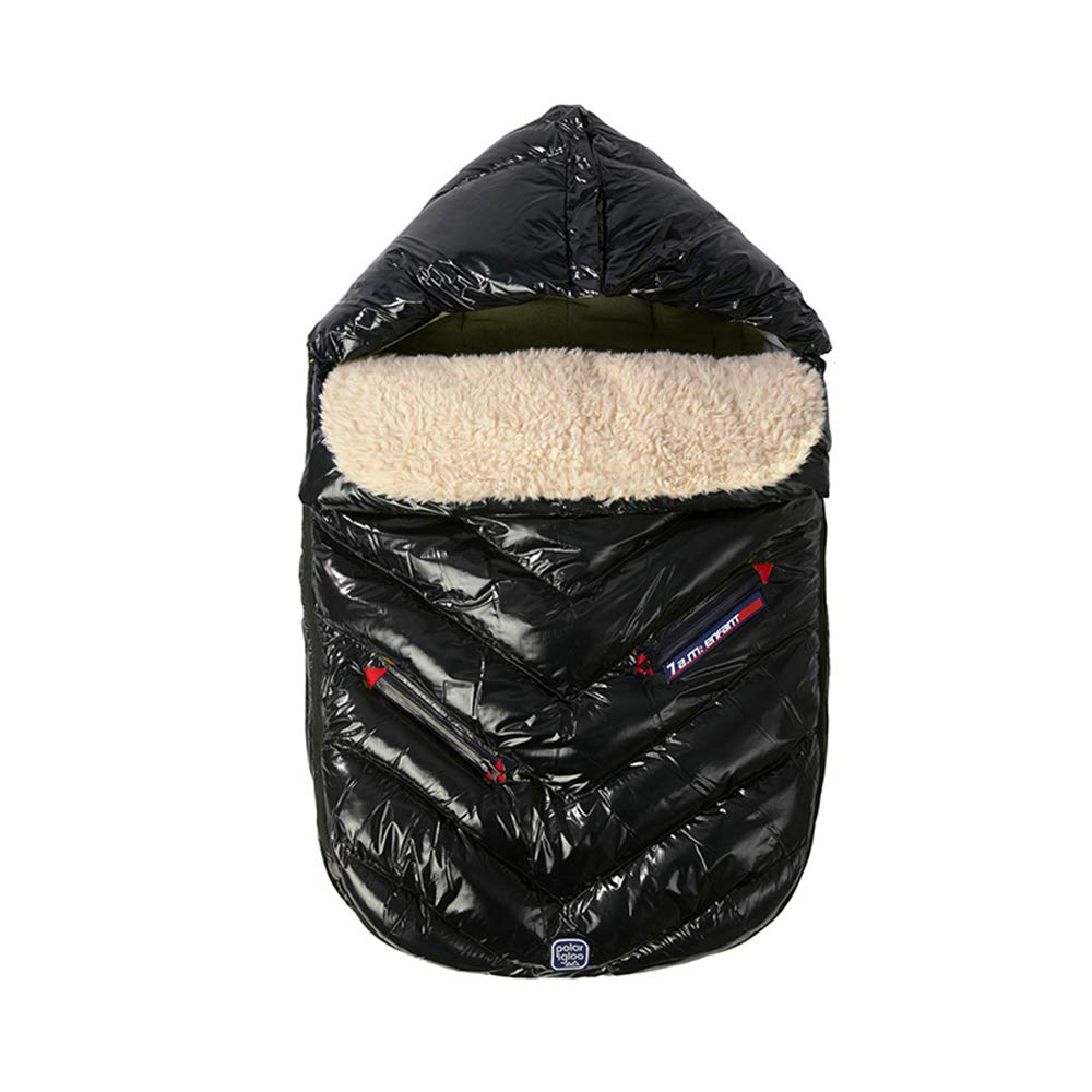 7 A.M. Enfant Polar Igloo (Black, Large)
