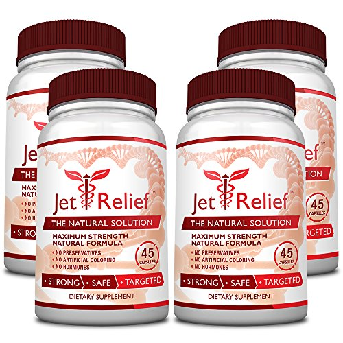 JetRelief - The #1 Choice for Jet Lag Relief - 100% Pure & Natural with NO MELATONIN- Helps Regulate Circadian Rhythm - With DMAE, Vitamin B and Magnesium - 100% Money Back - 6 Bottles Supply by JetRelief (Image #5)