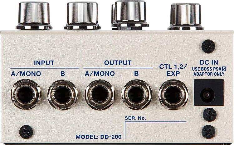 BOSS DD-200:接続端子