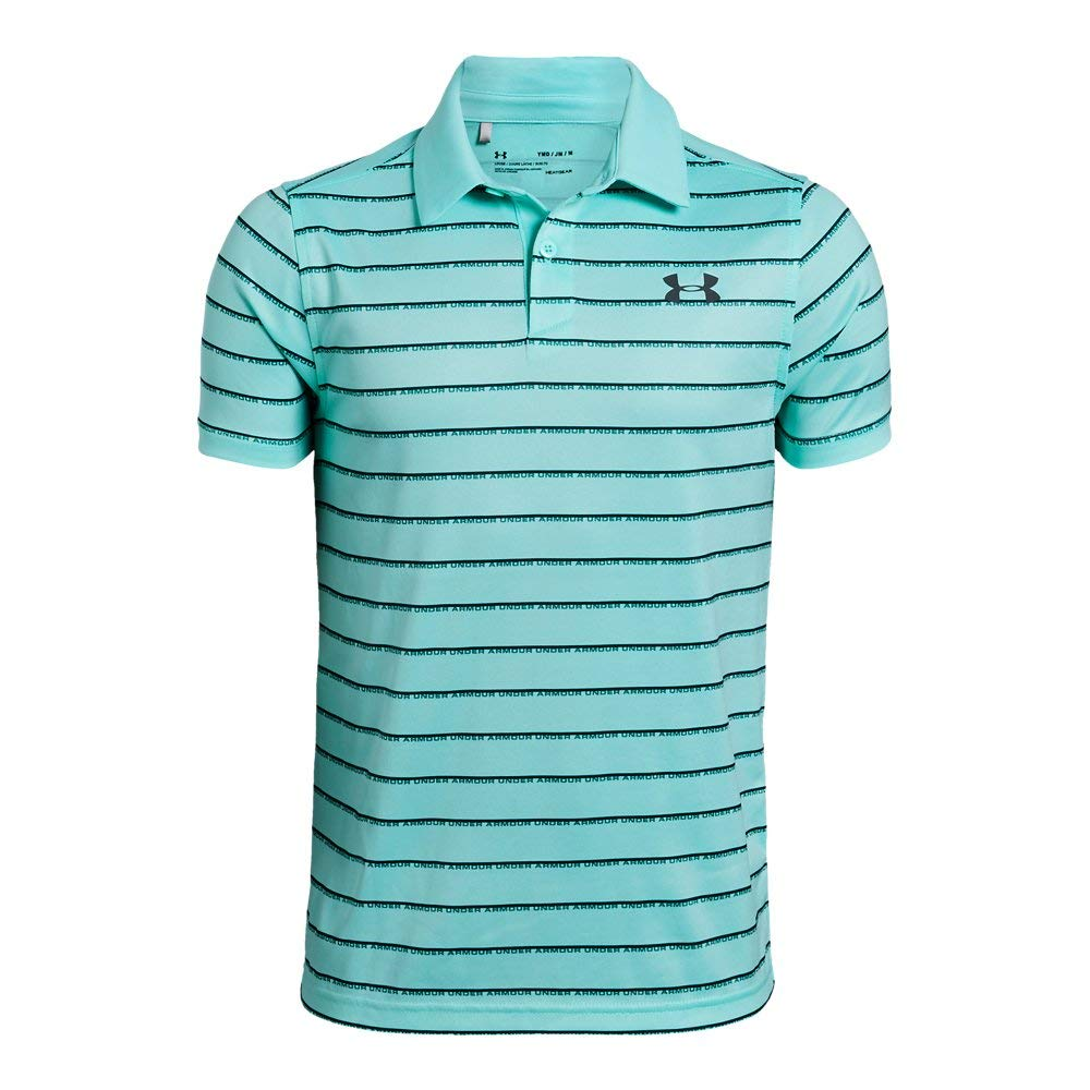 Under Armour UA Tour Tips Stripe YSM Neo Turquoise by Under Armour