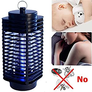 2X Killer Insect Zapper Bug Mosquito Fly Lamp Electric 110V Trap Swatter Indoor New