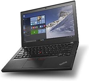 Lenovo ThinkPad X260 Business Laptop, 12.5 inches IPS Display / Intel Core i5-6300U 2.4Ghz (up to 3.00 GHz) / 256GB SSD / 16GB DDR4 / Windows 10 Pro / WiFi / Bluetooth (Renewed)