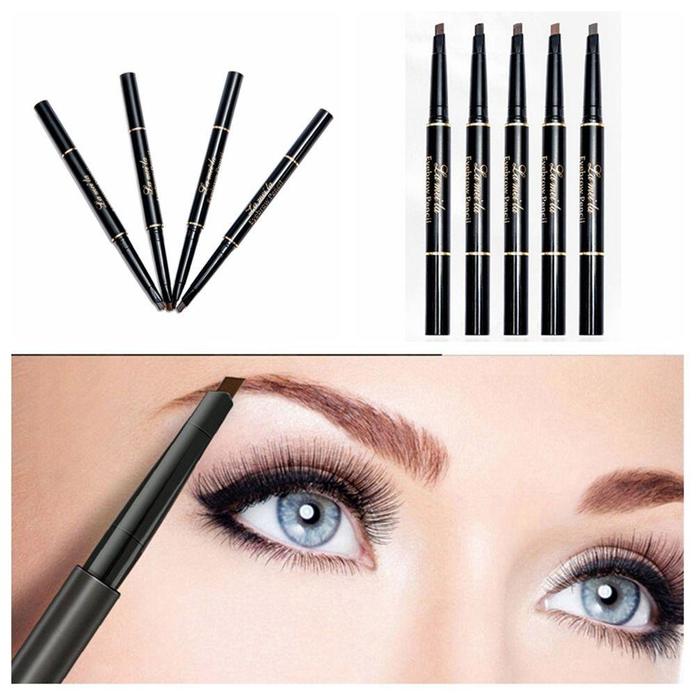 Amazon.com : Smoothph Hot Sale Waterproof Natural Eyebrow Pencil Double Head Automatic Brow Tint : Beauty
