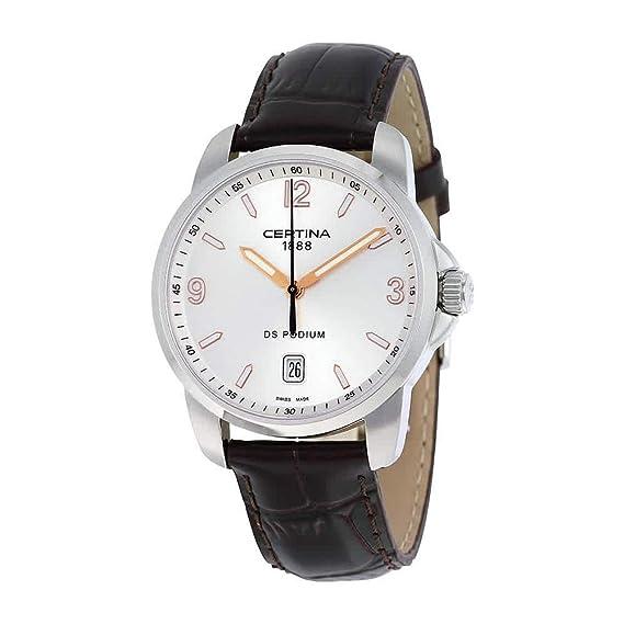 Certina DS Podium C001.410.16.037.01 - Reloj analógico de cuarzo para hombre,